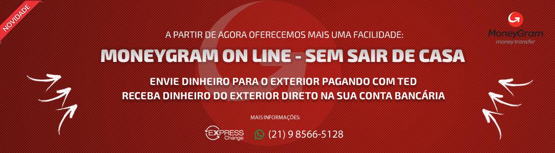 MONEYGRAM ON LINE - SEM SAIR DE CASA